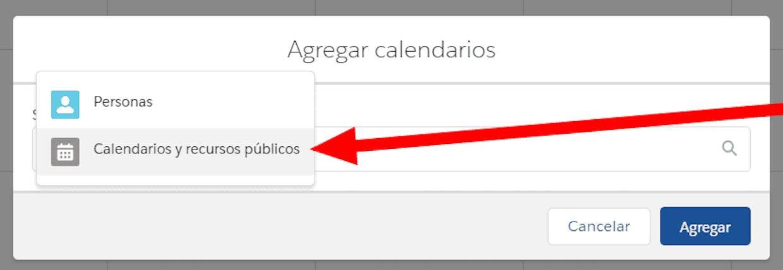 """Es posible compartir un calendario que no sea el predeterminado """"Mis Eventos""""?"""