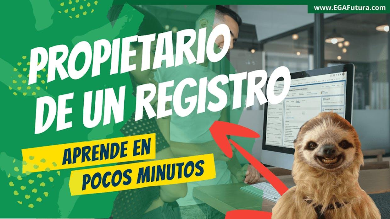 Es posible cambiar el propietario de un registro?