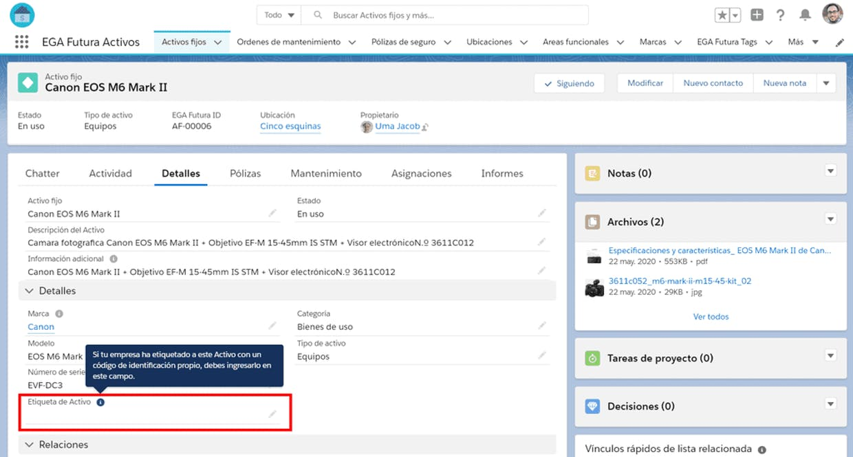 Para generar una Página de registro es necesario tener creado un Perfil de usuario o se puede asignar a un Usuario especifico?
