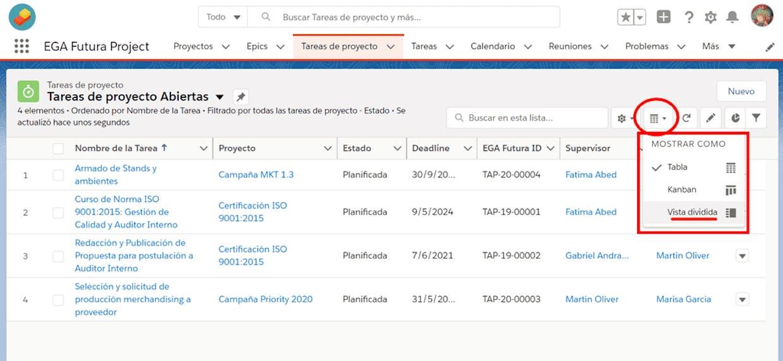 """Una vista de lista te permite ver los registros enumerados y tiene la opción de seleccionar registros a través de un """"tilde"""" (también te permite seleccionar todos los registro de la lista de una vez): Es posible desde ahí eliminar los registros seleccionados?"""