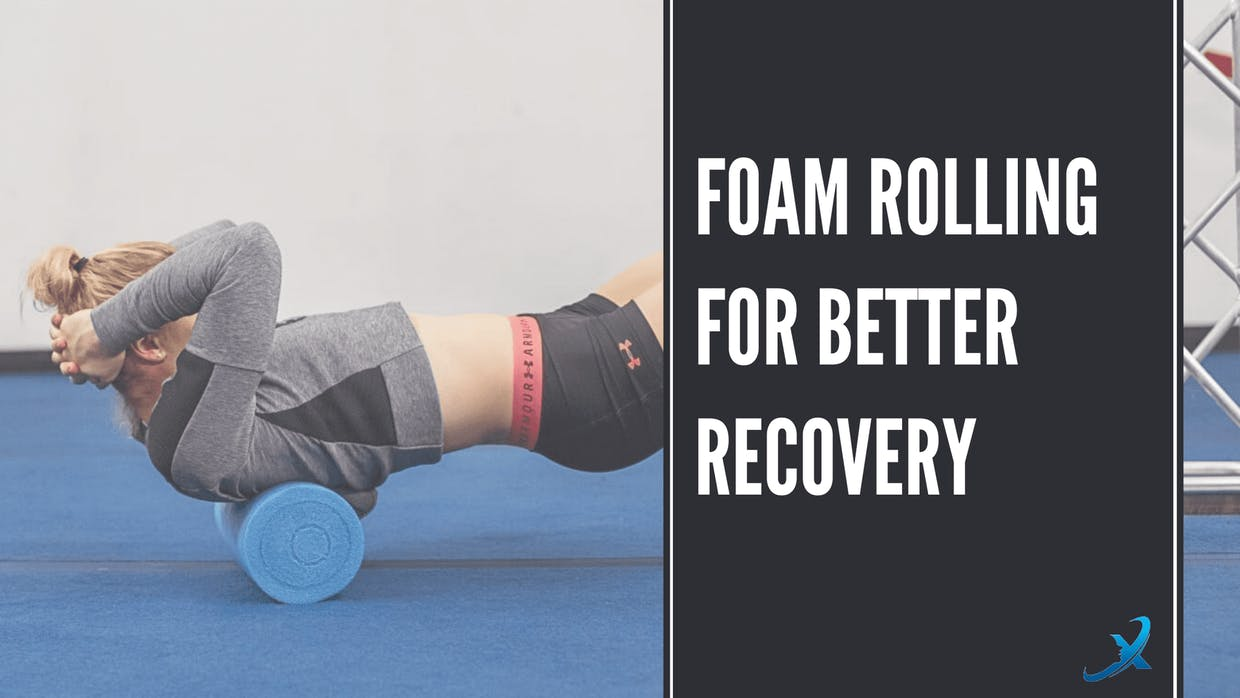 Foam rolling for better recovery, benefiting from something so simple