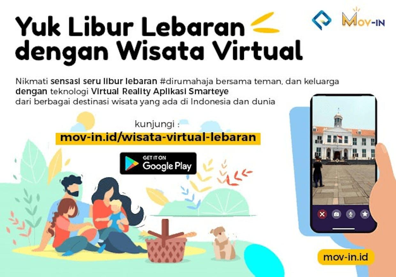 Wisata Virtual Lebaran Bersama Mov In