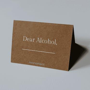 #DearAlcohol