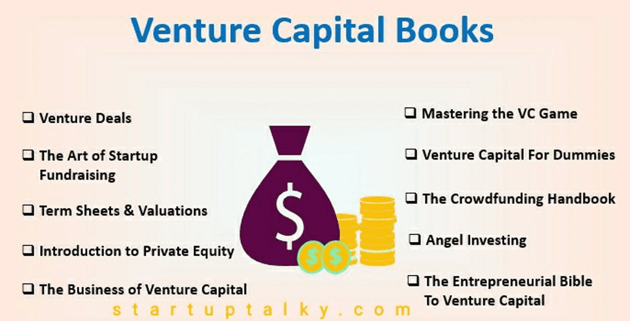 Best books for knowledge about venture capital