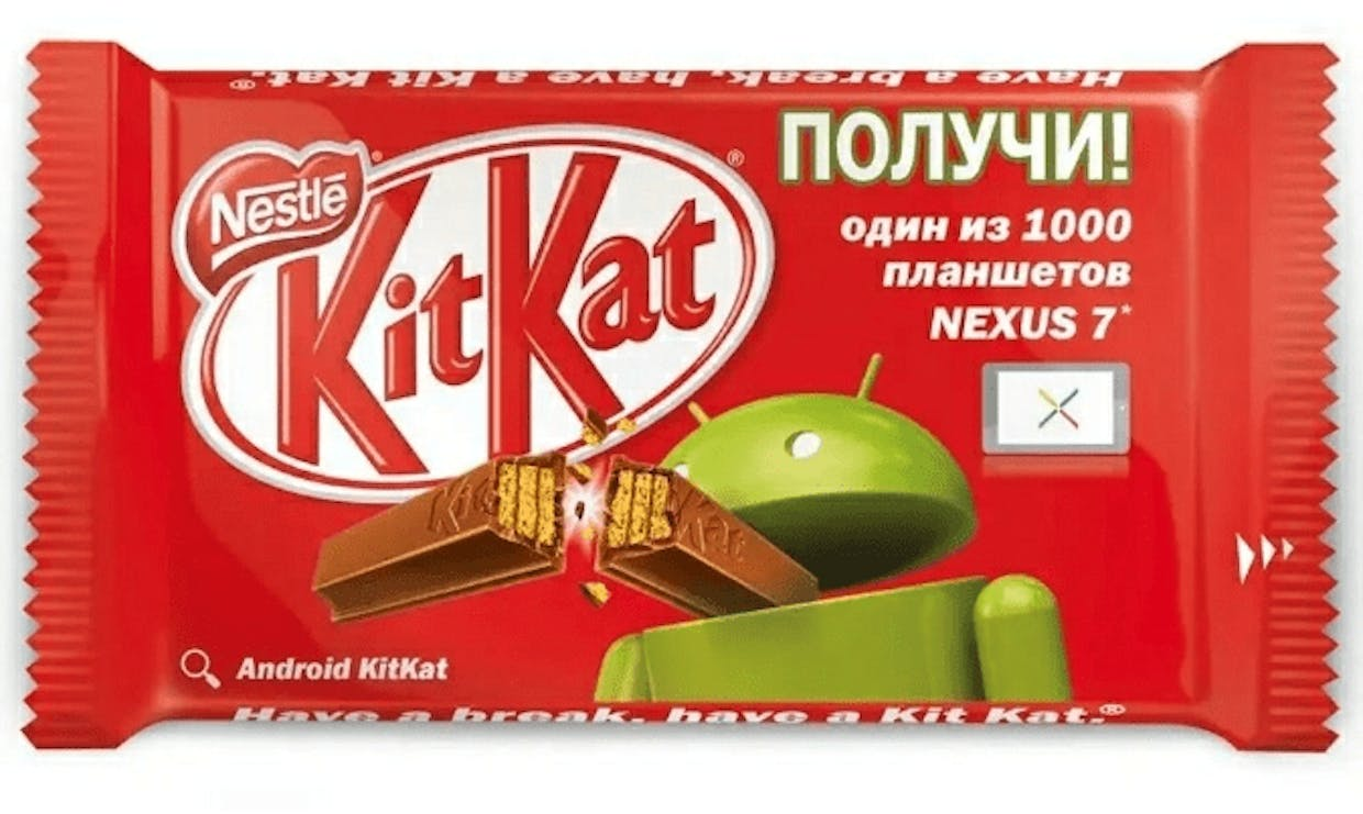 Kitkat and Google collaboration
