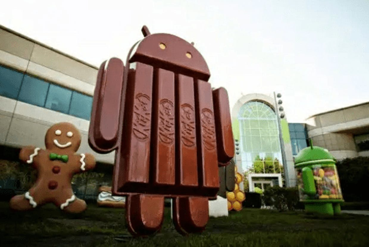 Google and Kitkat collaboration