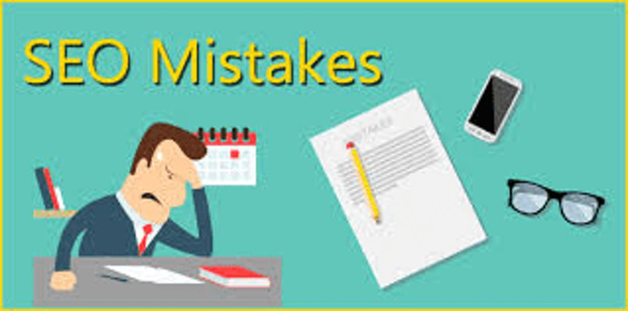 What are the common SEO mistakes?