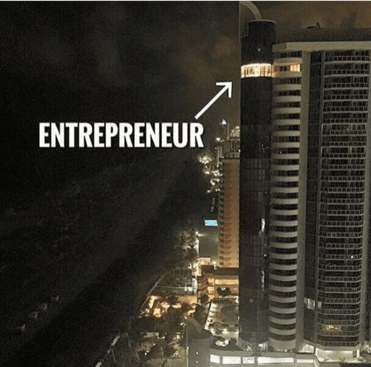 Entrepreneurs burns midnight oil to become successful