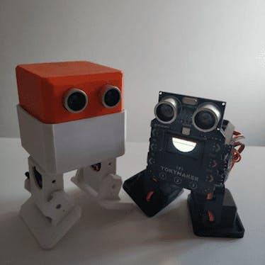 Ottoky , the new Otto DIY robot!