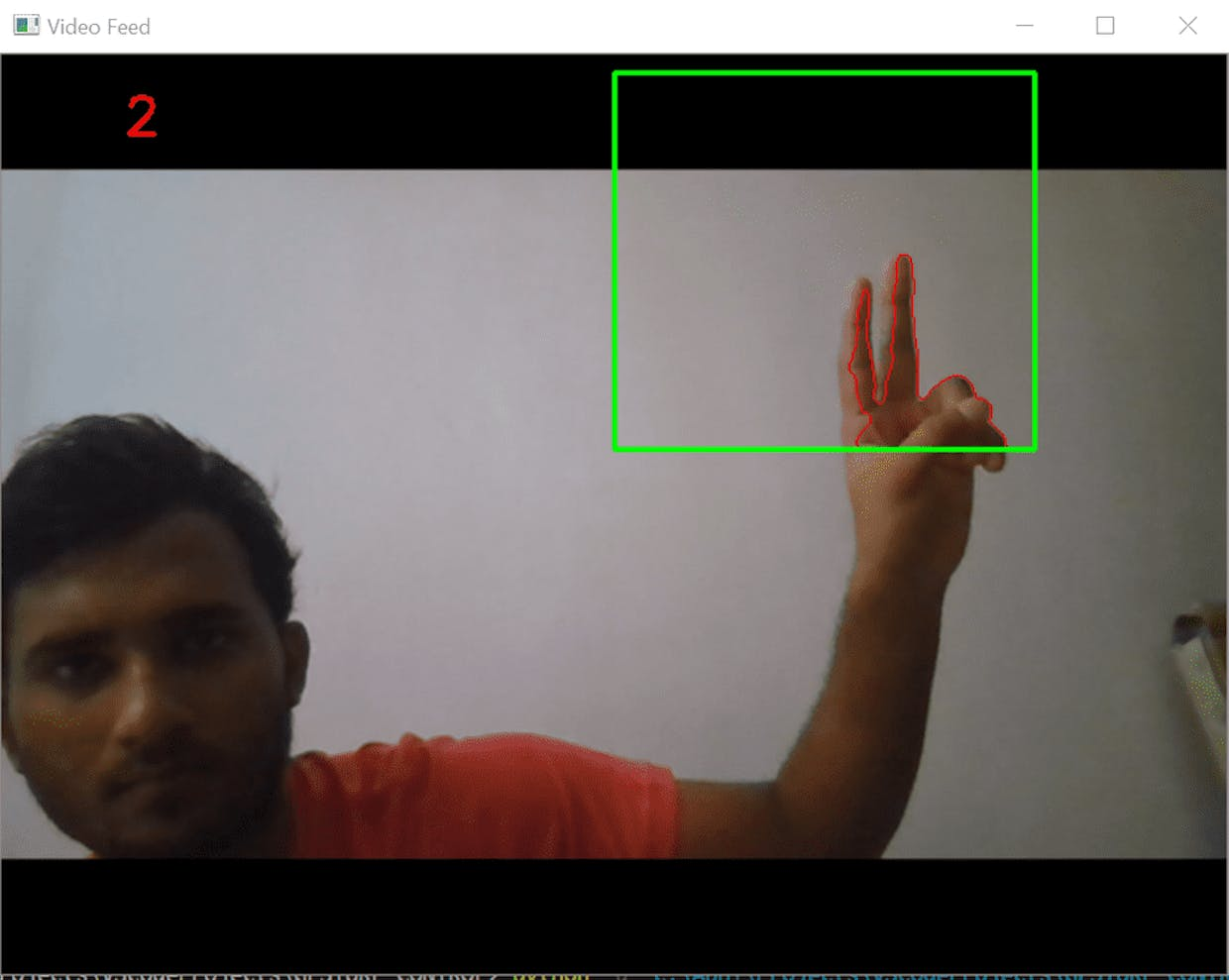 Figure 5. Hand-Gesture Recognition || Counting the fingers || Demo