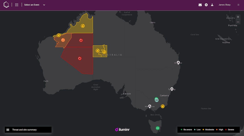 Australia from iluminr - 22/10/2020 - 9:27 AEST