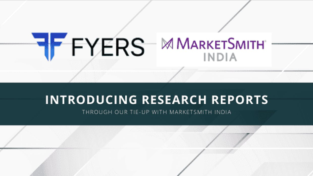 Introducing Research Reports By MarketSmith India