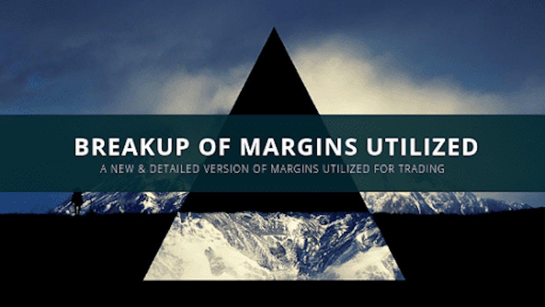 Break Up Of Margin Utilized For Trading