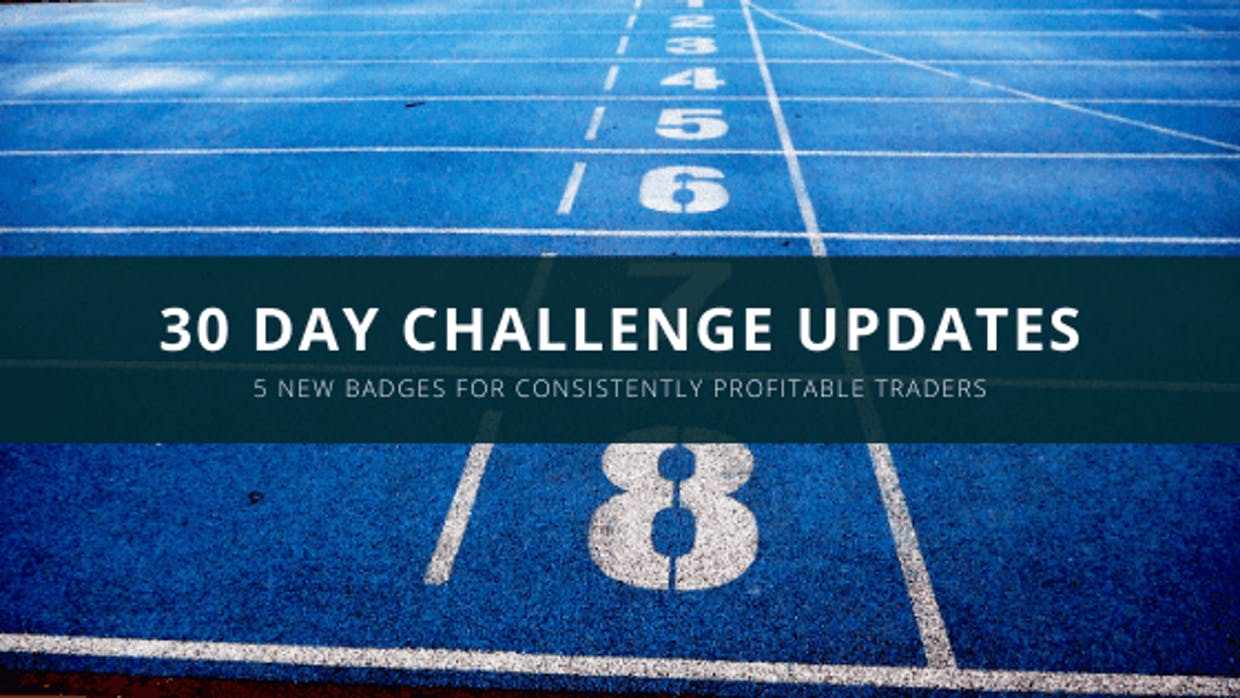 30 Day Challenge – New Badge Of Honours