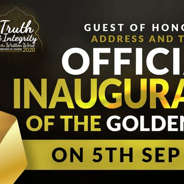 The long-awaited Golden Door Inauguration
