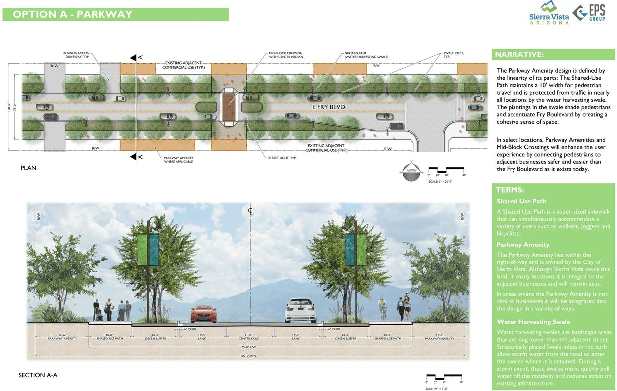 """Sample """"Fry Forward"""" plan, available on the city website."""