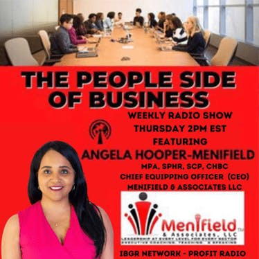 The People Side of Business with Angela Hooper-Menifield