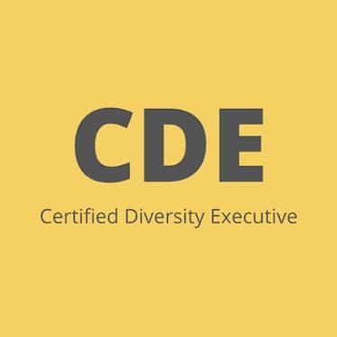 Certified Diversity Executive