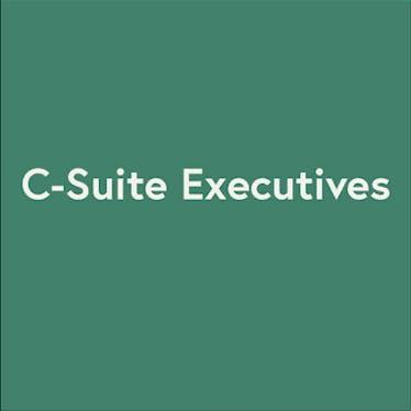 C-Suite Executives