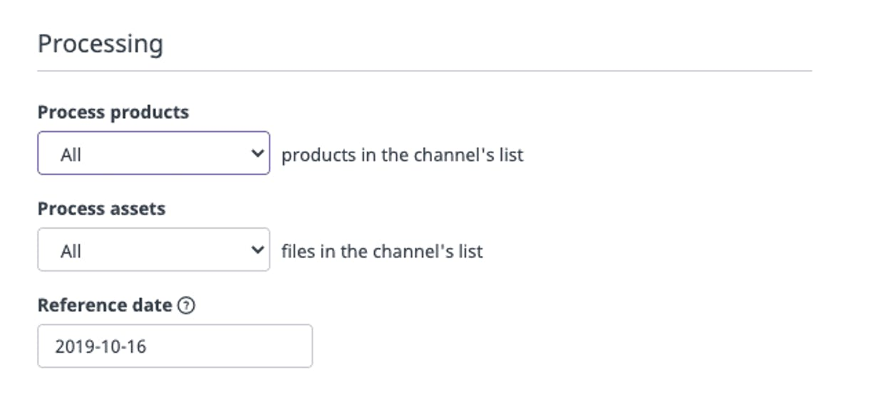 My CSV Channel is empty after I process it again, why?